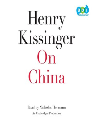 cover image of On China